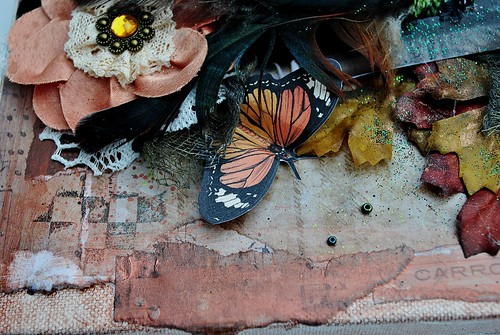 agnes, butterfly collage, allassiter