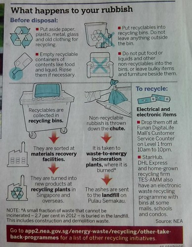 how to recycle singapore