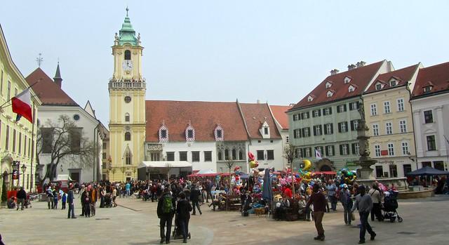 Old Square in Bratislava