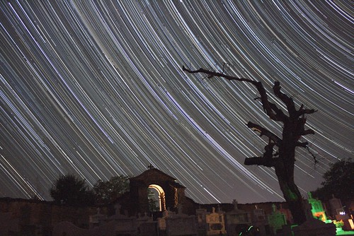 greece startrails astrophoto