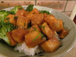 Orange You Glad I Made Crispy Tofu