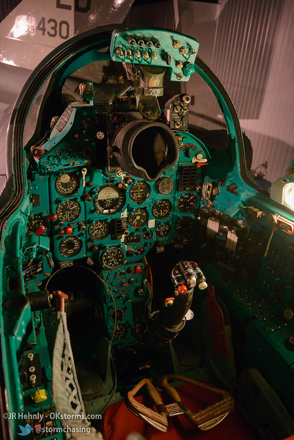 Sun, 10/26/2014 - 15:43 - This is the cockpit of a Soviet MiG-21 on display at the museum. - Stafford Air and Space Museum - October 26, 2014 3:43:09 PM - Weatherford, Oklahoma (35.5447,-98.6700)