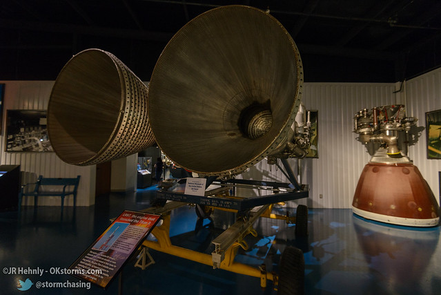 Sun, 10/26/2014 - 15:13 - The LR-87 rocket engine was used in the Titan rockets, and produced 430,000 pounds of thrust. - Stafford Air and Space Museum - October 26, 2014 3:13:02 PM - Weatherford, Oklahoma (35.5447,-98.6700)
