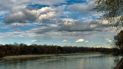 autumn sky canada clouds landscape lumix winnipeg manitoba redriver elmpark cans2s neighbourhoodwalk fz200
