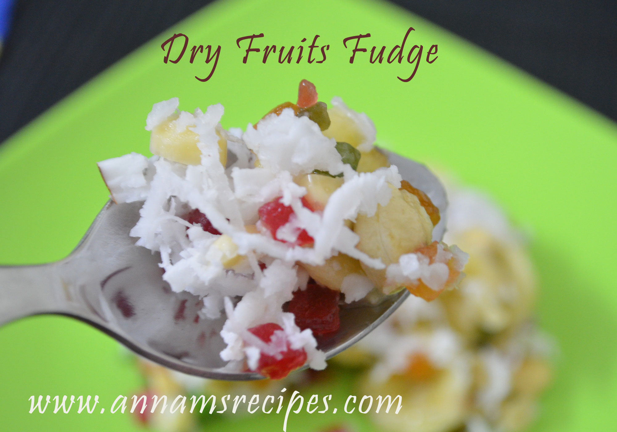 Dry Fruits Fudge