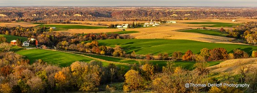 panorama fall colors sony iowa balltown a580