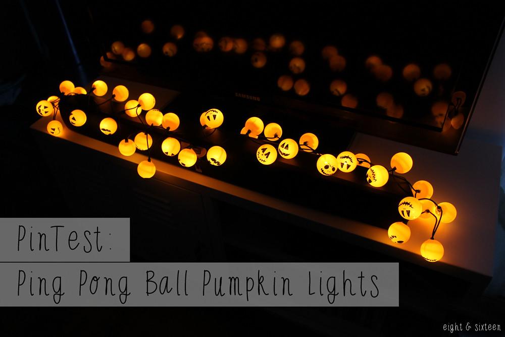Eight and sixteen uk craft diy blog pintest ping - Ping pong christmas lights ...