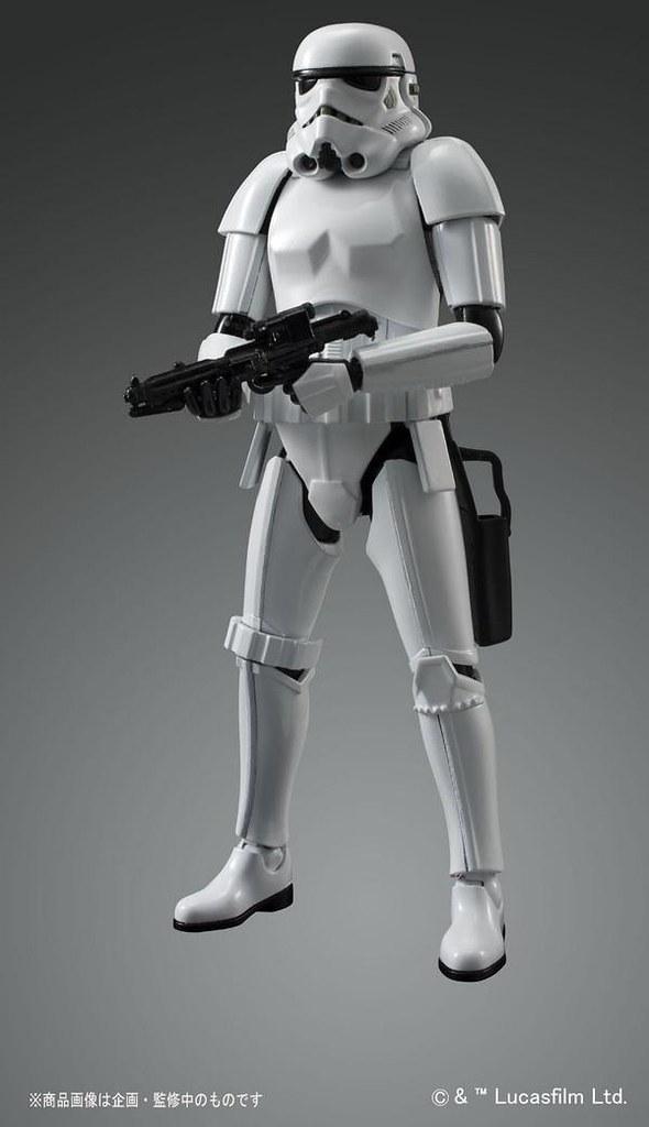 大量徵兵的機會來了!BANDAI《星際大戰》模型系列1/12 比例帝國風暴兵
