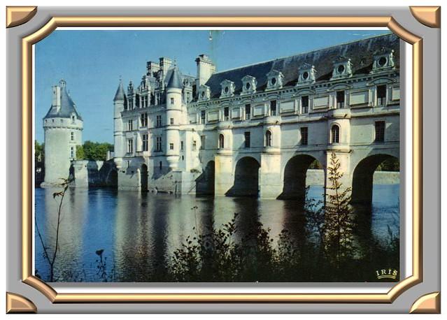 CHENONCEAUX 1649 - Le Château et la tour des Marquis (côté Ouest)
