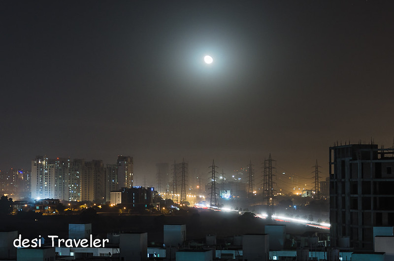 Karwa Chauth Moon Light Trails