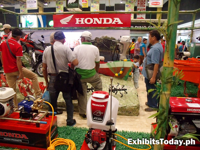Inside the Honda Motors Station
