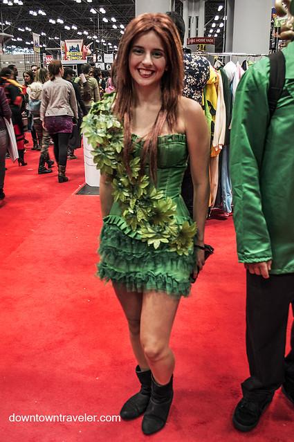 NY Comic Con 2014 Poison Ivy 5