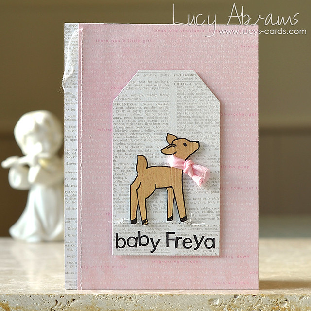 Baby Freya by Lucy Abrams