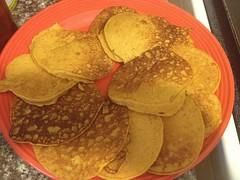 Mango Molasses Corn Cakes