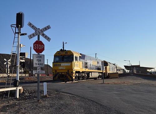 Indian Pacific locos