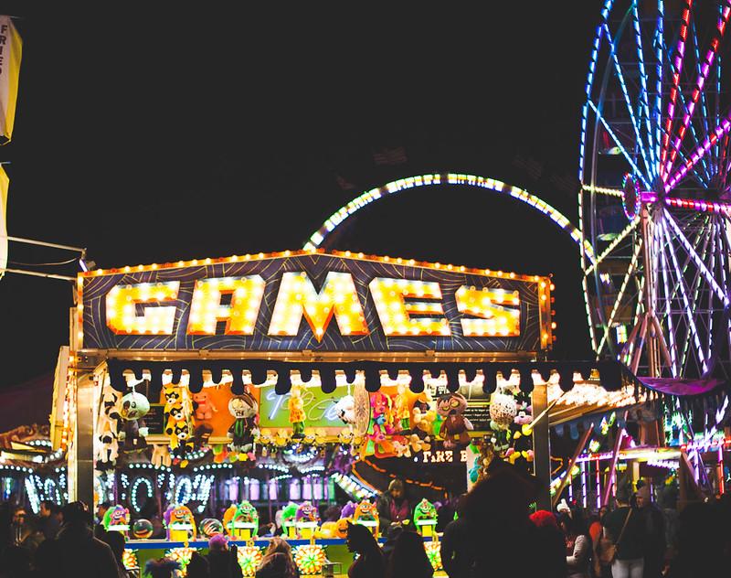 Carnival county fair games night