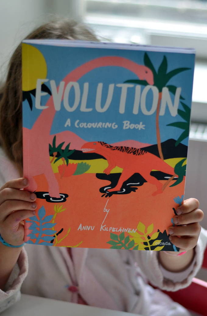 Paul&Paula blog: Evolution // A coloring book