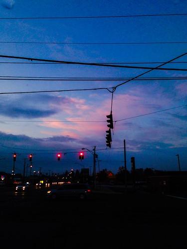blue clouds sunrise october purple cloudporn fallphotos mobilephotography iphonephotography cityoffairlawn cloudpoker flickrsunrises flickrclouds