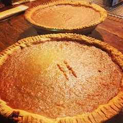 While making these sweet potato pies...I thought about my mother in law the whole time. Boy, I'm really missing her...but I know she will live on through all her yummy recipes!
