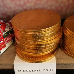 Carluccios chocolate coins IMG_2146 R