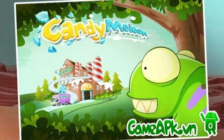 CandyMeleon v14.0 hack full vàng & kim cương cho Android