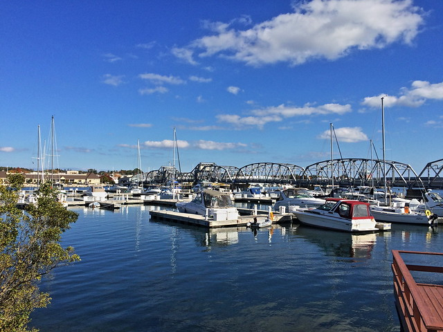 Sturgeon Bay marina 20141011