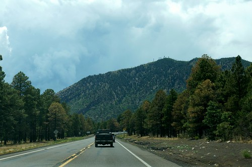 West on 66 near Flagstaff, Arizona