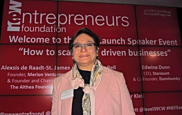@NeetaPatel Neeta Patel, CEO New Entrepreneurs Foundation, at #NEFEvent @Newentrefound IMG_7609