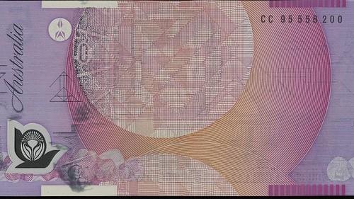 Australian error banknote