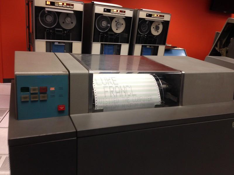 IBM 1401 printer
