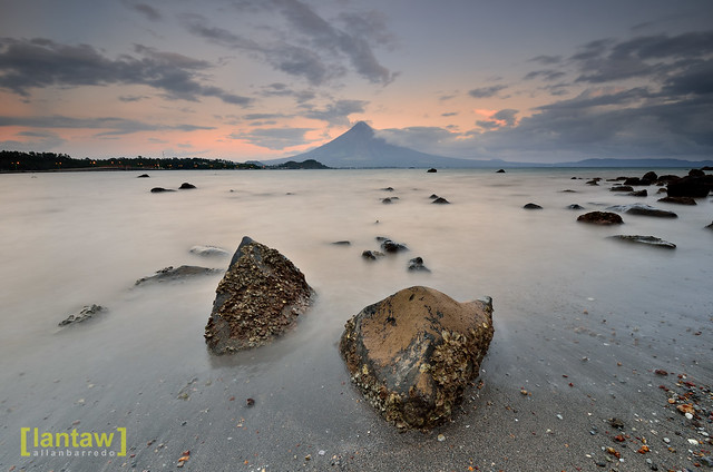Mayon at Twilight