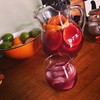 This afternoon: homemade sangria #hantzhouse #cocktailhour #fallbreak
