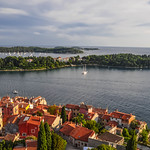 Rovinj from Saint Euphemia's
