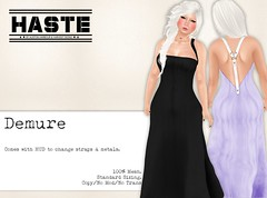 [Haste] Demure at The Fantasy Collective