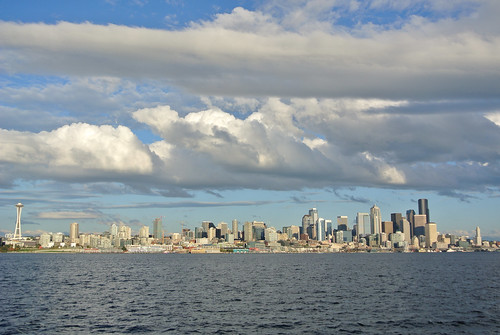 Autumn Overnighter - Clouds Over Seattle