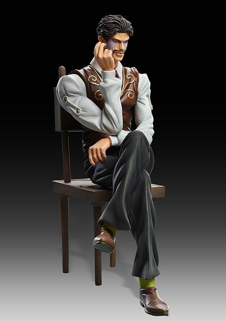 雕像傳說新作—JOJO冒險野郎賭徒「丹尼·J·達比」立體化!