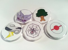 SPLI Pokemon League Badges