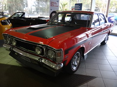 automobile, automotive exterior, vehicle, full-size car, ford xy falcon gt, compact car, antique car, sedan, land vehicle,