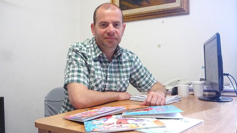 """Diego Javier Rojas: """"No hay chico que se resista a abrir un libro"""""""