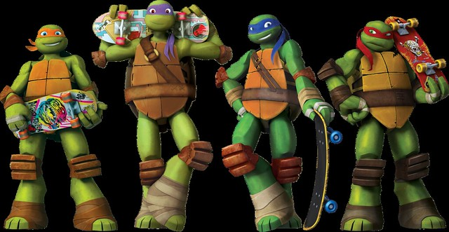 teenage-mutant-ninja-turtles-stars-cast-leonardo-donatello-michelangelo-raphael-cgi-nicktoon-tmnt-nicktoons-nick