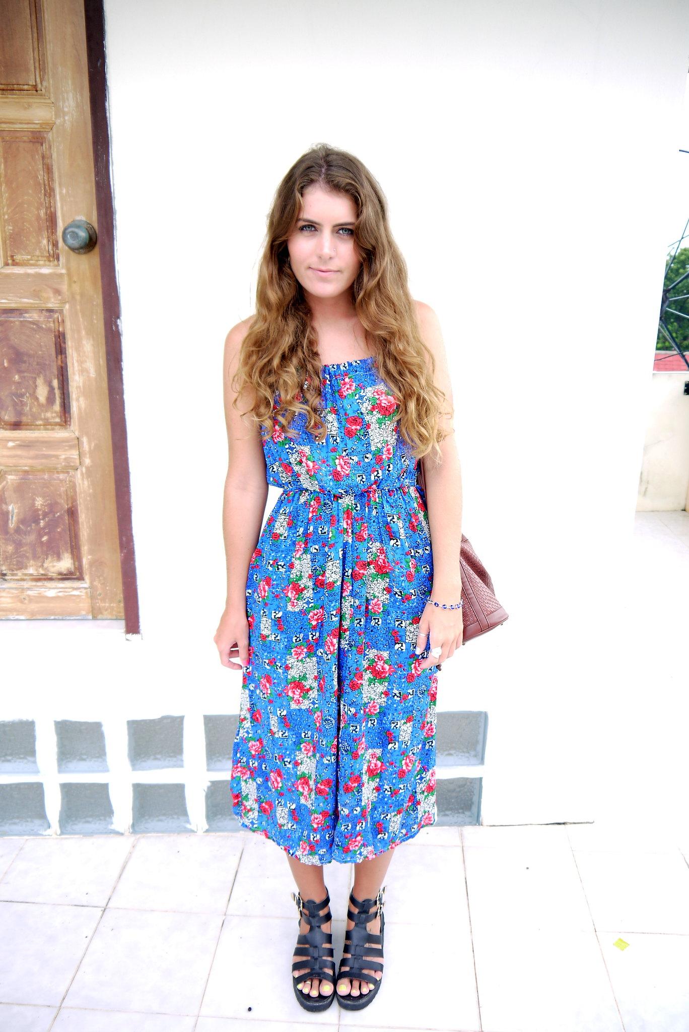 Thailand Blue Dress // Kirsty Wears Style Blog
