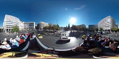 360 degree view from the Red Bus at Syntagma Square | #TBEX