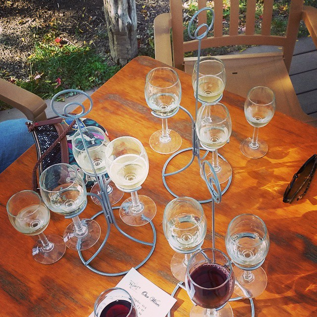 I like girls weekend. #winetasting