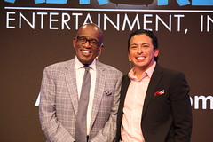 Al Roker and Brian Solis