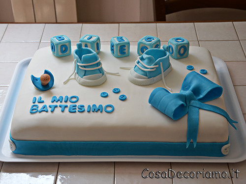 Torte - 41 - Torta battesimo