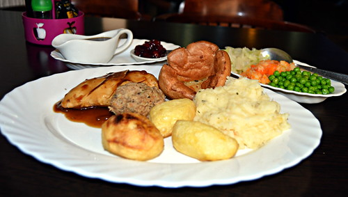 Roast dinner, The Devon Arms, Los Cristianos