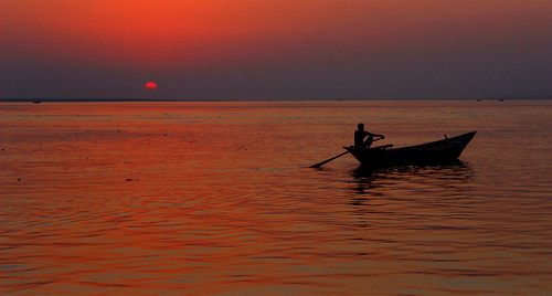 sunset cloud boat asia ngc oar storms waterman rajshahi saarc
