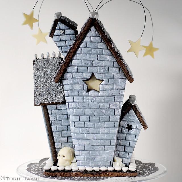 Haunted Cookie House Template Torie Jayne