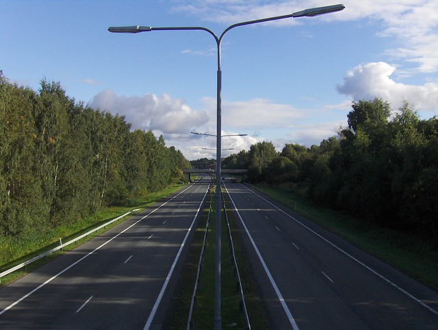 Hämeenlinnan moottoritiekate ja Goodman-kauppakeskus: Työmaan lähtötilanne 3.9.2011 - kuva 11