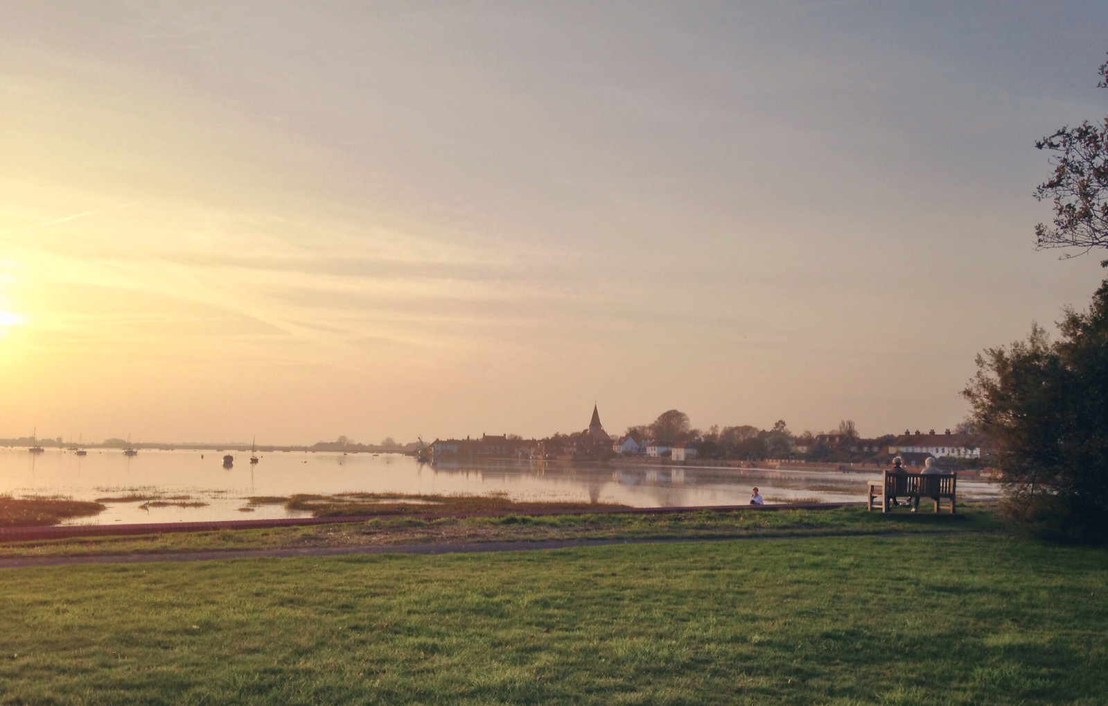 Bosham on a winter's afternoon